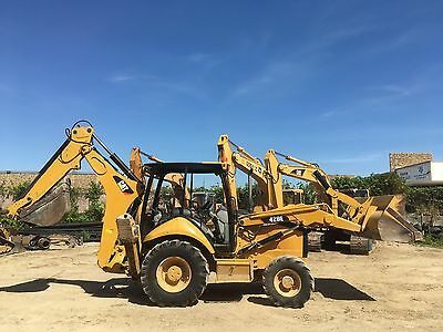 2007 Caterpillar CAT 420E 4wd Backhoe Loader; 4056 HRS