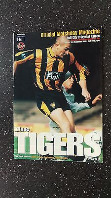 Hull City V Crystal Palace 1997-98