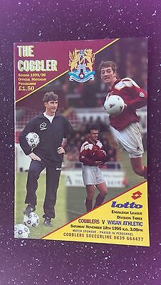 Northampton Town V Wigan Athletic 1995-96