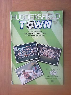 Huddersfield Town V Sheffield United 1988-89
