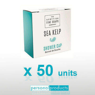 50x Sea Kelp Shower Cap Bonnet de Douche