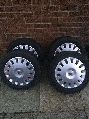 Vauxhall Corsa C Wheels Set Of 4 With Tyres