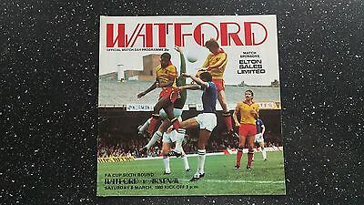 Watford V Arsenal 1979-80