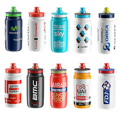 ELITE FLY 2017 PRO CYCLING TEAM BIKE CYCLE WATER BOTTLE 550ml (Bmc,Team Sky,etc)