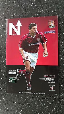 Northampton Town V Norwich City 2003-04