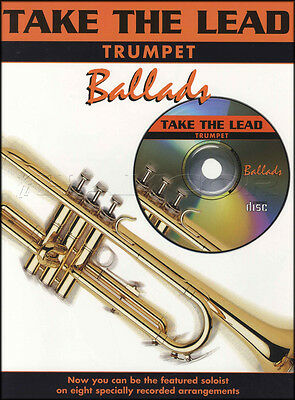 Take The Lead Trumpet Ballads Sheet Music Book with Play-Along CD