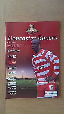 Doncaster Rovers V Rochdale 2006-07