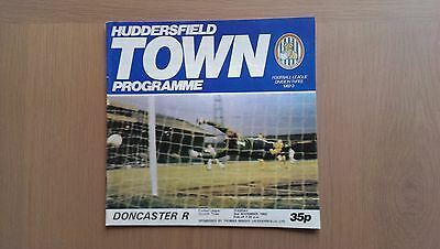 Huddersfield Town V Doncaster Rovers 1982-83