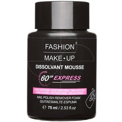 Fashion Make Up - Dissolvant Mousse 60s Express - 75ml