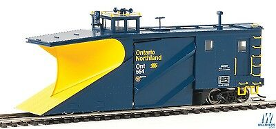 Walthers Proto Ontario Northland ONR Russell Snowplow #554 - HO Scale