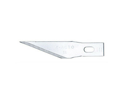 Classic fin point blades - Stainless steel (5 pack) - X-Acto EK221 Free post F1