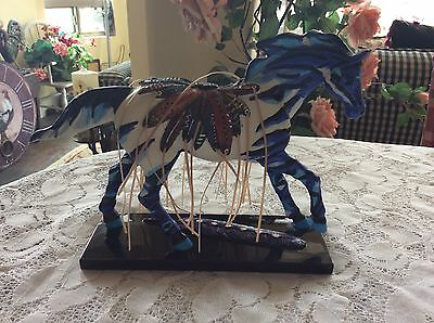 The TRAIL of PAINTED PONIES No. 12294~TRIBAL PAINT~2009 Horse Figurine