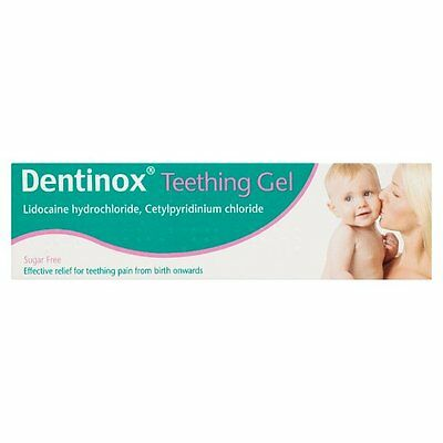 DENTINOX TEETHING GEL 10G efective relief for teething pain