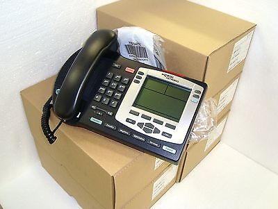 5 pc Nortel I2004 POE IP Phone Charcoal NTDU92 NTDU92BC70E6 New Housing&Handset