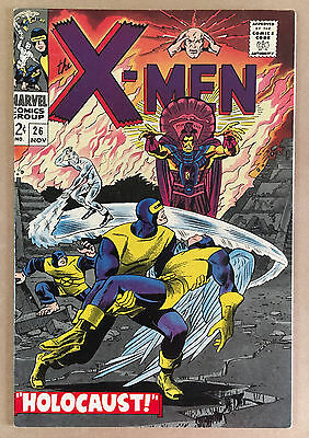 Marvel X-MEN #26 November 1966 Holocaust! Extremely nice copy NM