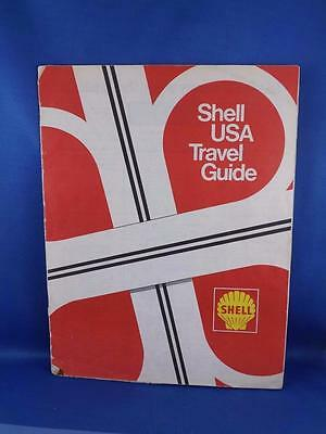 Shell Usa Travel Guide Book Gas Service Advertising Maps