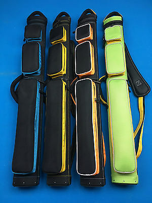 NEW John Barton JB Cases pool cue case 2x3 Ultimante Rugged, color choices.