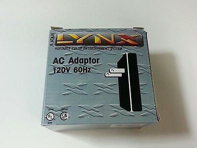 Official Atari lynx AC power adapter supply charger 120v NEW