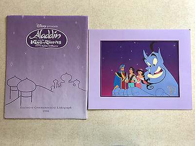 Aladdin And The King Of Thieves Disney Store Exclusive Lithograph 1996