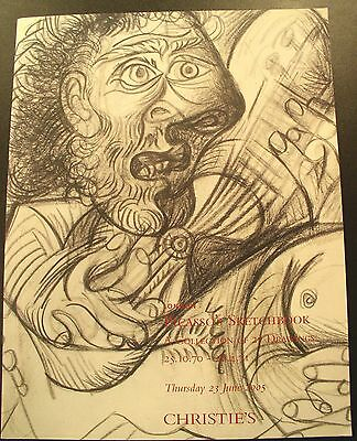 Christie's Picasso's Sketchbook A Collection of Drawings Sale - NY 2005 Catalog