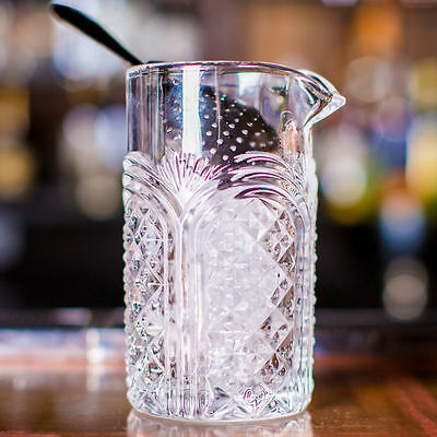 Astor Mixing Glass With Pouring Lip 17.5oz 500ml - Bar Cocktail Stirring Glass