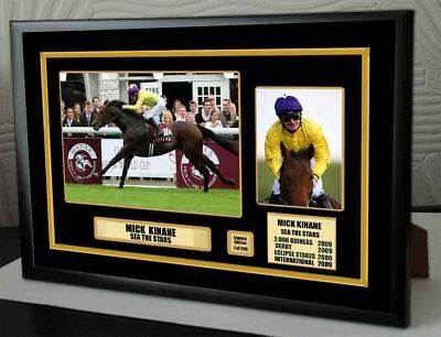 Mick Kinane See The Stars  Limited Edition Framed Canvas  Print Signed