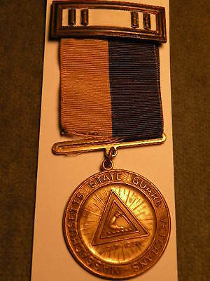 Massachusetts State Guard.  -WWI Service Medal