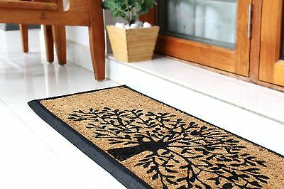 Doormat Extra Large Tree of Life 40x120cm Fab Habitat