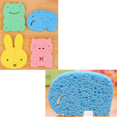 Infant Lovely High quality Animal shape Bath sponge Super softBrush Eco-friendly