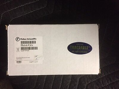 Fisher Scientific 06-664-11 Traceable Refrigerator Freezer Thermometer
