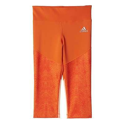 adidas Girls Techfit Three-Quarter Tights