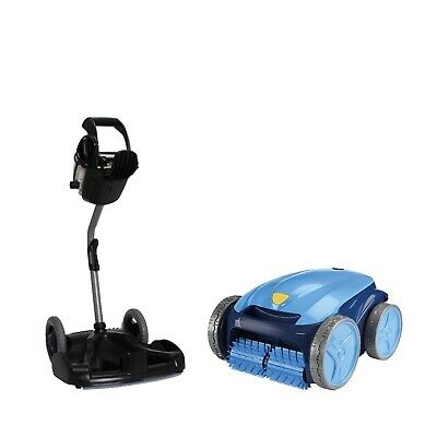 Poolroboter Zodiac Vortex 3 PLUS Bodensauger Schwimmbad Pool incl. Caddy vollaut