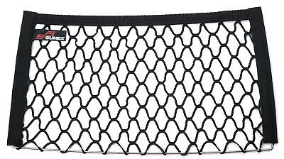 Car Interior Storage Net Tidy Document Holder 25 x 45cm Universal Boot Seat Side