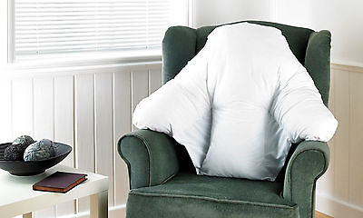 Deluxe Batwing Back Support Pillow Back Support Cushion For Chairs