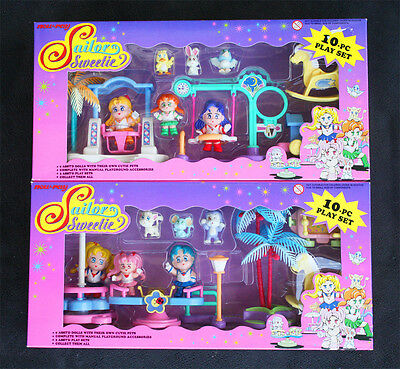 Complete Collection Sailor Moon Sweetie Dolls. New-Ray 1995! Brand New Old Stock