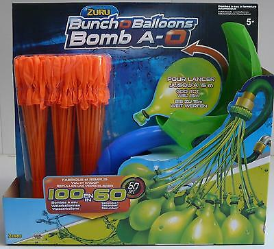 Splash Toys Bunch O Balloons Water Balloon Including Launcher (Orange) 31114