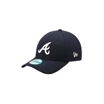 New Era MLB Atlanta Braves Navy The League 9Forty Adjustable Cap