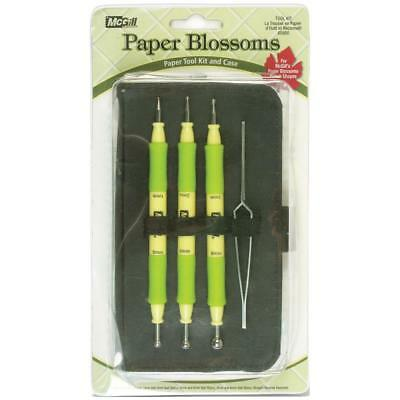 MCGILL Paper Blossoms Paper Embossing Tool Kit and Case