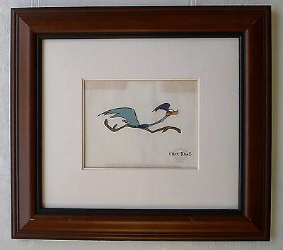 ✔ Chuck Jones Road Runner Art Serigraph Print w/ COA Limited Edition out of 9500