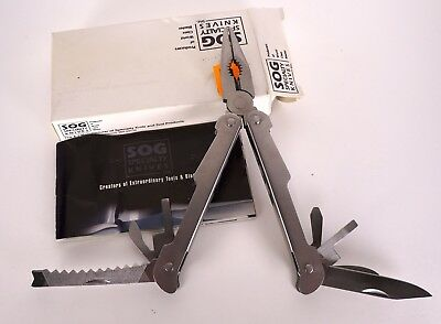 SOG power plier needle nose pocket multi herramienta  pinza cut senderismo