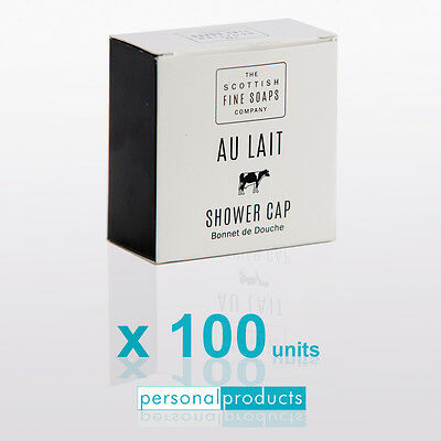 100x Au Lait Shower Cap Bonnet de Douche