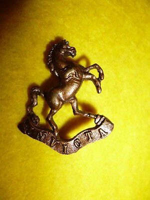 6th Royal West Kent Regiment Officer's Bronze Collar Badge, Scarce