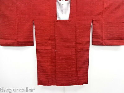 Beautiful Vintage Japanese, Silk Kimono, Beautiful Material, Deep Red Color