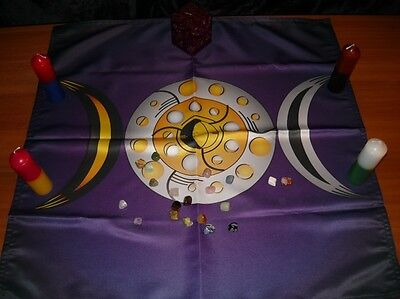 Wicca Altar Cloth Moon Magic