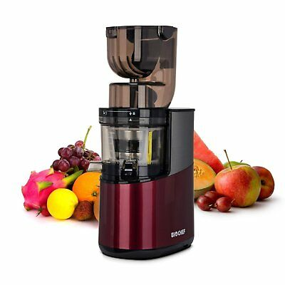 BioChef Atlas Whole Slow Juicer PRO - 400Watt - NEU - Rot
