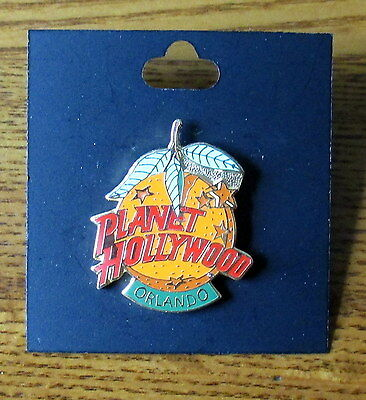 Planet Hollywood Orlando Orange Collectible Pin - Excellent condition!