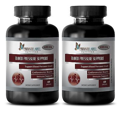 Immune support vitamins for adults - BLOOD PRESSURE CONTROL - antioxidant - 2Bot