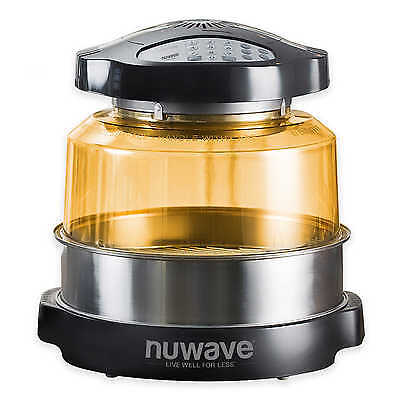 NuWave 20633 Pro Plus Oven with Stainless Steel Extender Ring, Black