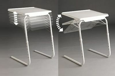 As Seen On TV Table-Mate The Adjustable Table (white)