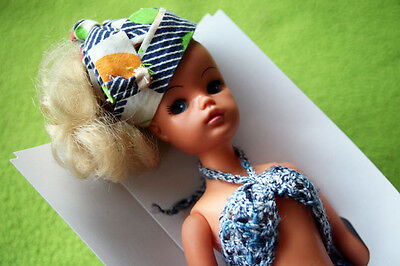 Vintage Blonde Sindy Doll, 1965! Very Rare & Collectible Muñeca! Outfit, Boxed